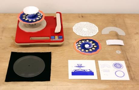 praxinoscope silkscreen