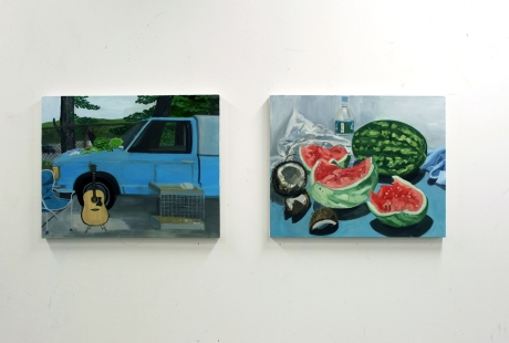 watermelon paintings